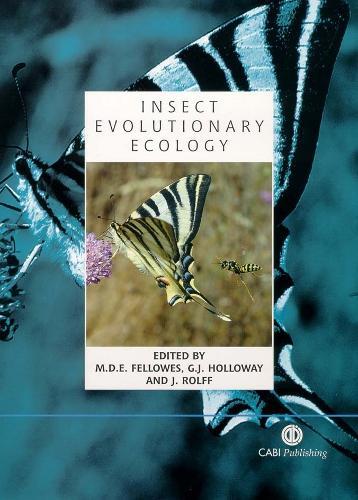 Insect Evolutionary Ecology - Royal Entomological Society (Hardback)