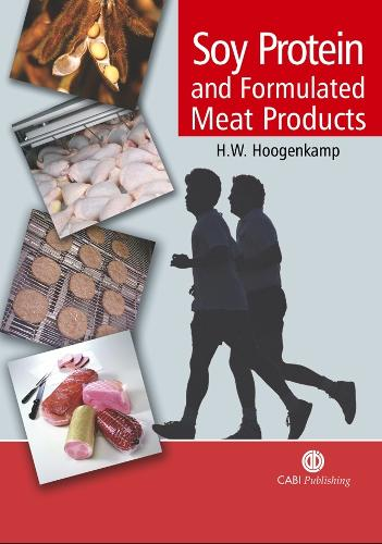 Soy Protein and Formulated Meat Products (Hardback)