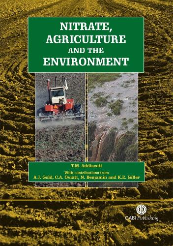 Nitrate, Agriculture and the Environment (Paperback)