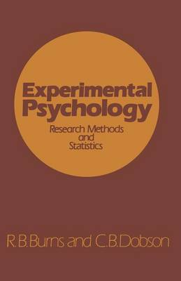 Experimental Psychology: Research Methods and Statistics (Paperback)