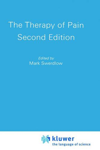 The Therapy of Pain (Hardback)