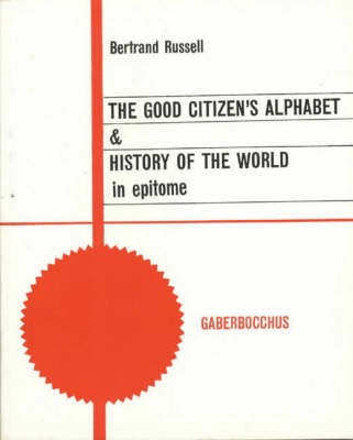 """The Good Citizen's Alphabet (Paperback)"