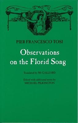 Observations on Florid Song (Paperback)