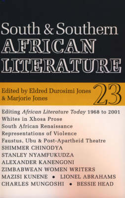 ALT 23 South and Southern Africa - African Literature Today v. 23 (Paperback)