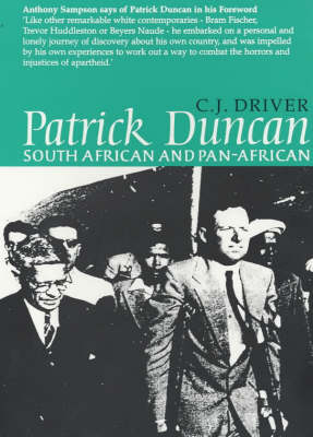 Patrick Duncan: South African and Pan-Africanist (Paperback)