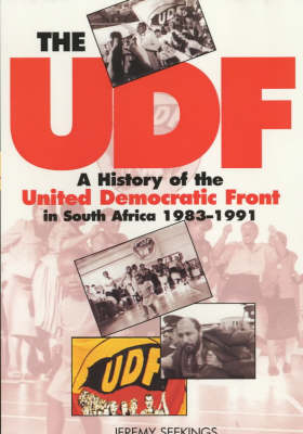 The UDF: A History of the United Democratic Front in South Africa, 1983-1991 (Paperback)