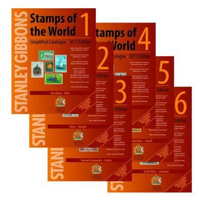 Stanley Gibbons Stamps of the World 2011: v. 1-6 (Paperback)