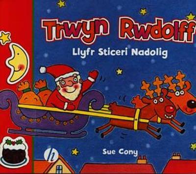 Trwyn Rwdolff - Llyfr Sticer Nadolig (Paperback)
