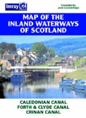 Inland Waterways of Scotland Map (Sheet map, folded)