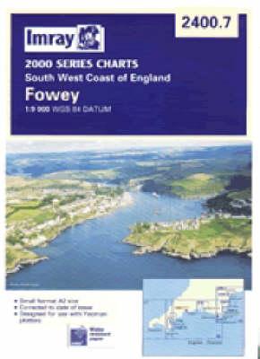 2400.7: River Fowey to Lostwithiel (Sheet map)