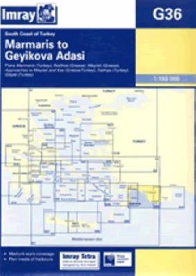 Imray Chart G36 2005: South Coast of Turkey - Marmaris to Geyikova Adasi (Sheet map)