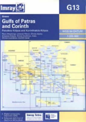 Imray Chart G13: Gulf of Patras and Corinth (Sheet map, folded)