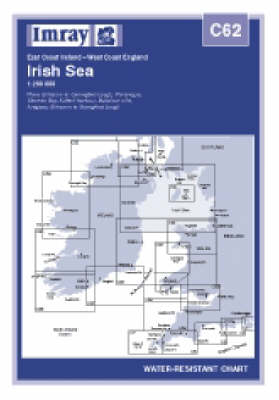 Irish Sea 2006 - Imray C.Chart C62 (Sheet map, folded)