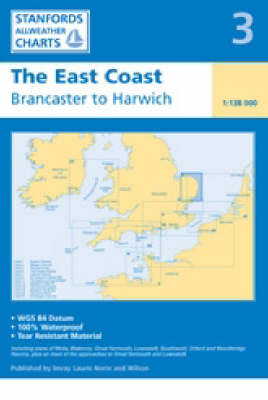The East Coast 2006 - Stanfords Charts No. 3 (Sheet map, folded)