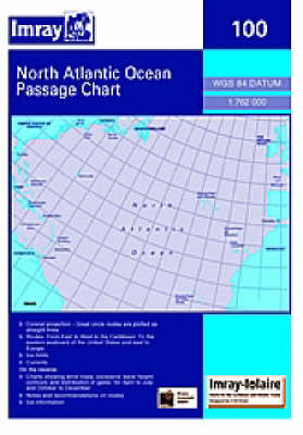 Imray Chart 100 2006: Atlantic Ocean Passage Chart (Sheet map, folded)