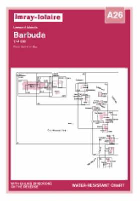 Imray Iolaire Chart A26 2006: Barbuda - South West Coast - Imray Iolaire Chart A26 (Sheet map, folded)