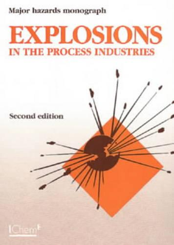Explosions in the Process Industries - Major Hazard Monograph S. (Paperback)