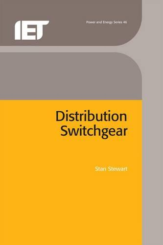 Distribution Switchgear - Energy Engineering (Hardback)