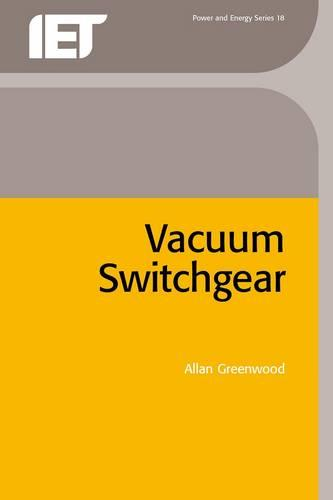 Vacuum Switchgear - Energy Engineering (Hardback)
