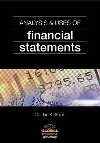 Analysis and Uses of Financial Statements - International dictionary (Paperback)