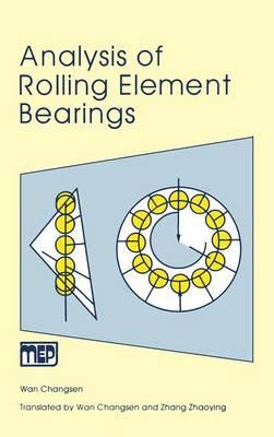 Analysis of Rolling Element Bearings (Hardback)
