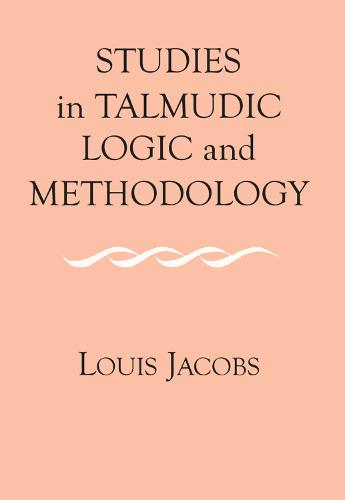 Studies in Talmudic Logic and Methodology (Paperback)