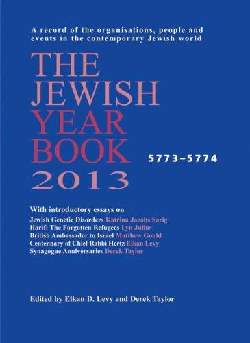 The Jewish Year Book 2013 (Hardback)