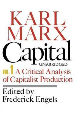 Capital: Vol 1 (Paperback)