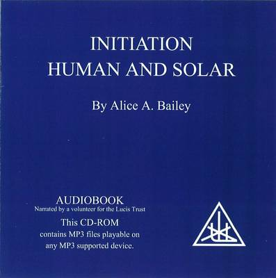 Initiation, Human and Solar (CD-Audio)