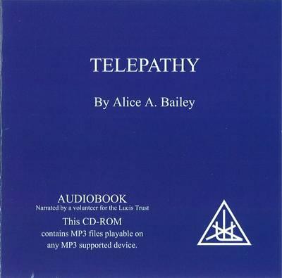 Telepathy: and the Etheric Vehicle (CD-Audio)