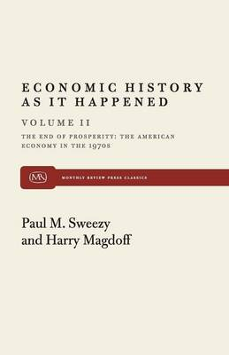 End of Prosperity: American Economy in the 1970's (Paperback)