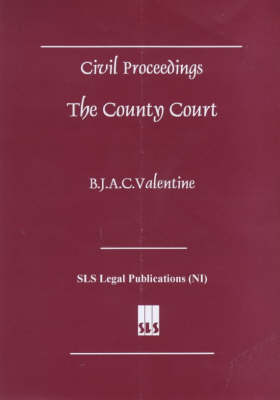 Civil Proceedings: The County Court (Paperback)