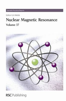 Nuclear Magnetic Resonance: Volume 37 - Specialist Periodical Reports (Hardback)