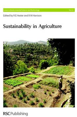 Sustainability in Agriculture (Hardback)