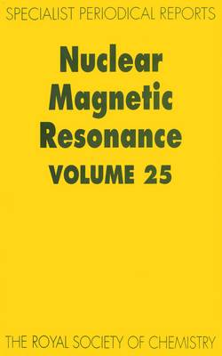 Nuclear Magnetic Resonance: Volume 25 (Hardback)