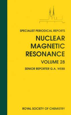 Nuclear Magnetic Resonance: Volume 28 - Specialist Periodical Reports (Hardback)