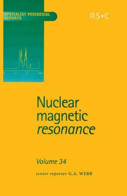 Nuclear Magnetic Resonance: Volume 34 (Hardback)