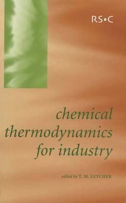 Chemical Thermodynamics for Industry (Hardback)