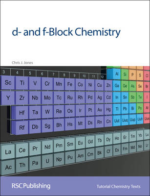 d- and f-Block Chemistry - Tutorial Chemistry Texts (Paperback)