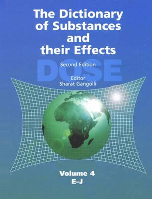 The Dictionary of Substances and Their Effects (DOSE): E-J (Hardback)