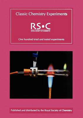 Classic Chemistry Experiments (Paperback)