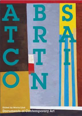 Abstraction - Documents of Contemporary Art (Paperback)