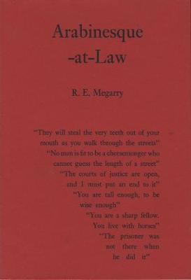 Arabinesque-at-Law (Hardback)