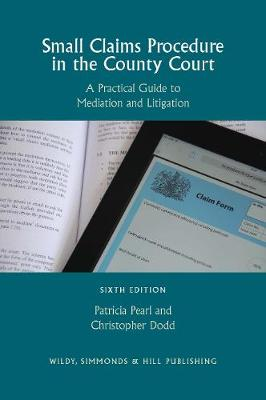 Small Claims Procedure in the County Court: A Practical Guide to Mediation and Litigation (Paperback)