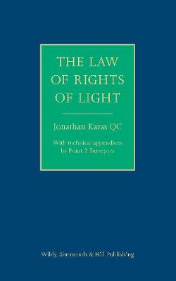 The Law of the Rights of Light (Hardback)