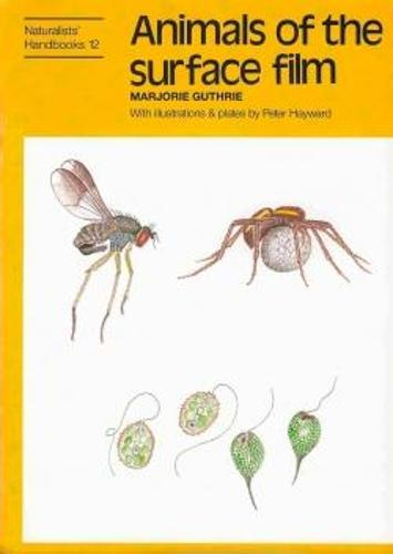 Animals of the surface film - Naturalists' Handbooks Vol. 12 (Hardback)
