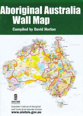 A1 fold AIATSIS map Indigenous Australia (Sheet map)