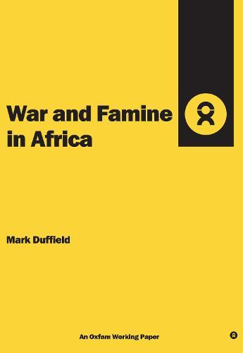 War and Famine in Africa (Spiral bound)