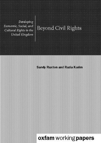 Beyond Civil Rights (Paperback)