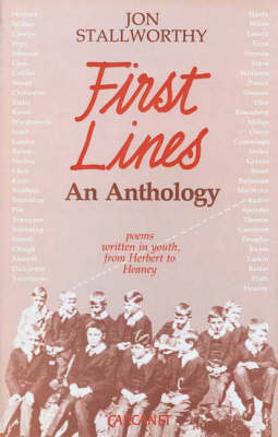 First Lines: Poems Written in Youth (Hardback)